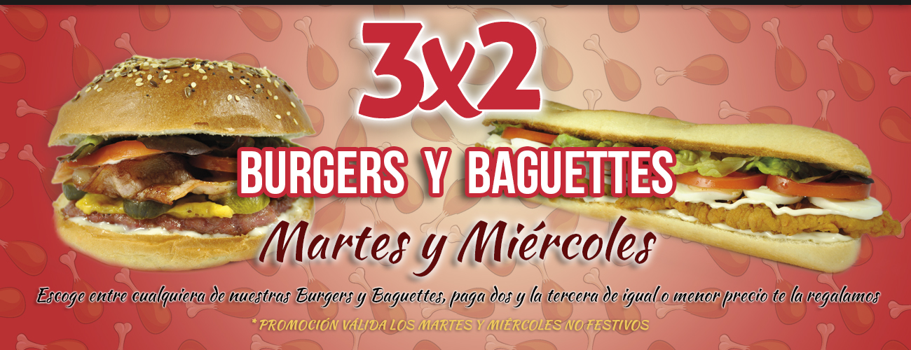 Oferta 3x2 - My Chicken Broast and Friends